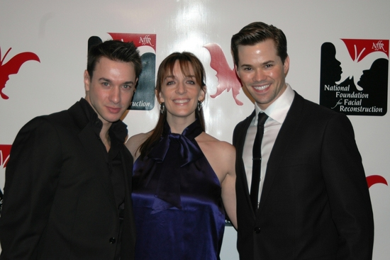 John Carroll, Julia Murney and Andrew Rannells
