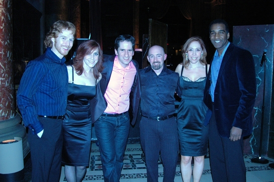 Paul Castree, Andrea McArdle, Seth Rudesky, Musical Director, Andrea Burns, Norm Lewis