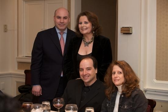 Michael Gyure, Randie Levine-Miller, David Kogut and Claudia Haughn