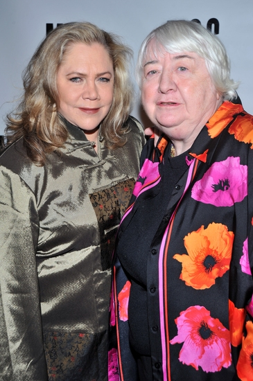 Kathleen Turner and Elizabeth McCann