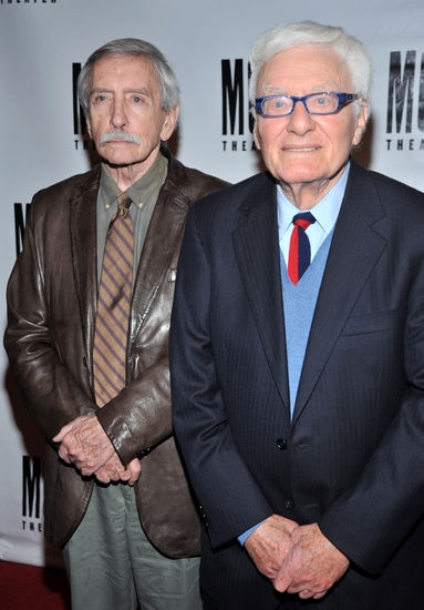 Edward Albee and Peter Shaffer at MCC's MISCAST 2009 Gala