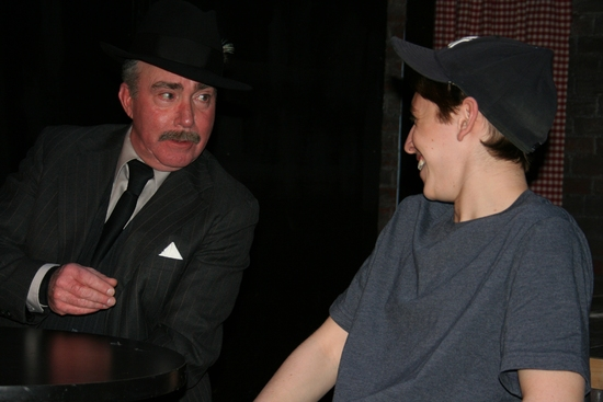 Photo Flash: Schooling Giacomo At American Theater Of Actors