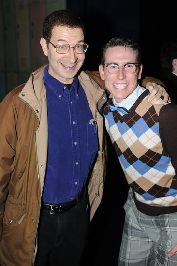 Eddie Deezen and Scot Patrick Allen