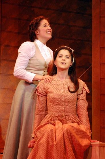 Sara Sheperd and Amber Ward