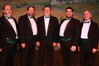 Photo Coverage: Reagle Players Go Green for St. Pat's
