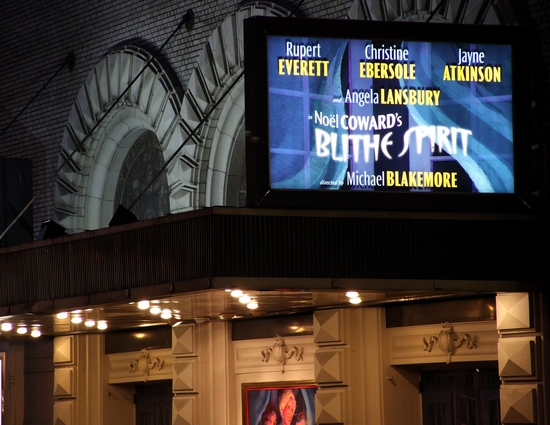 Photo Coverage: 'Blithe Spirit'  Opening Night Arrivals