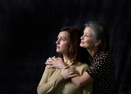 Jessica Wiggers and Pamela Peadon
