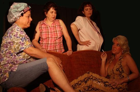 Melonea Locklair, Rhonda Kierpiec, Laura Hunt, and Melanie Cason
