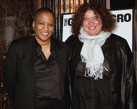 Tracey Scott Wilson and Director Liesl Tommy at THE GOOD NEGRO Opens at the Public