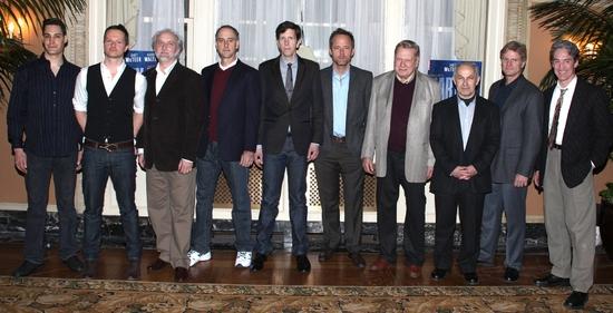 Adam Greer, Chandler Williams, Michael Rudko, Michael Countryman, Robert Stanton, John Benjamin Hickey, Brian Murray, Nicholas Woodeson, Tony Carlin and Guy Paul