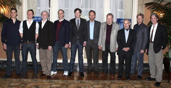Adam Greer, Chandler Williams, Michael Rudko, Michael Countryman, Robert Stanton, John Benjamin Hickey, Brian Murray, Nicholas Woodeson, Tony Carlin and Guy Paul