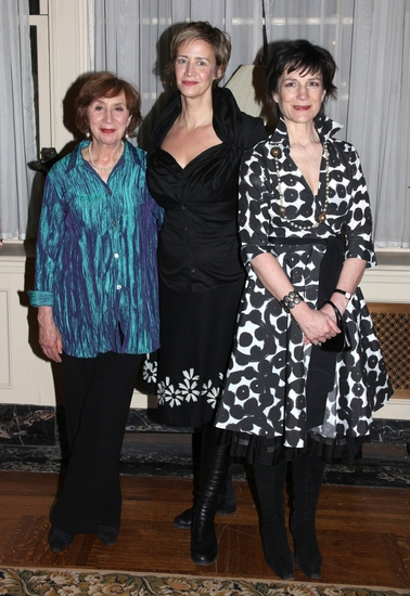 Maria Tucci, Janet McTeer and Harriet Walter
