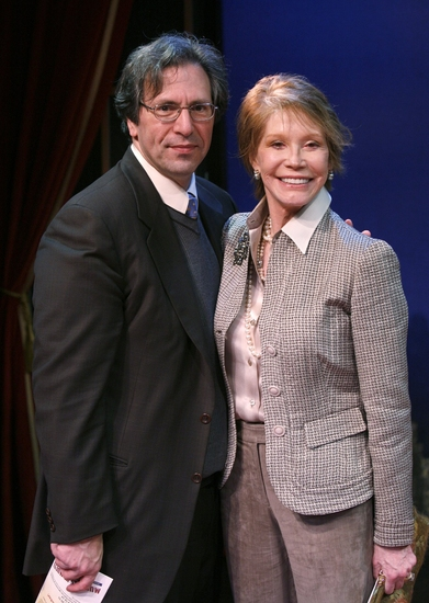 Robert Levine and Mary Tyler Moore