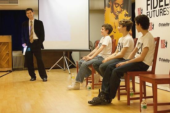 B.T. McNicholl, Trent Kowalik, Kiril Kulish, and David Alvarez Photo