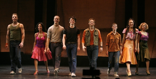 Photo Coverage: WEST SIDE STORY Opening Night Curtain Call at the Palace