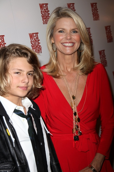 Jack Paris with mom Christie Brinkley