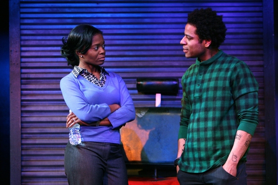 LaChanze and Che Ayende at INKED BABY At Peter Jay Sharp Theater