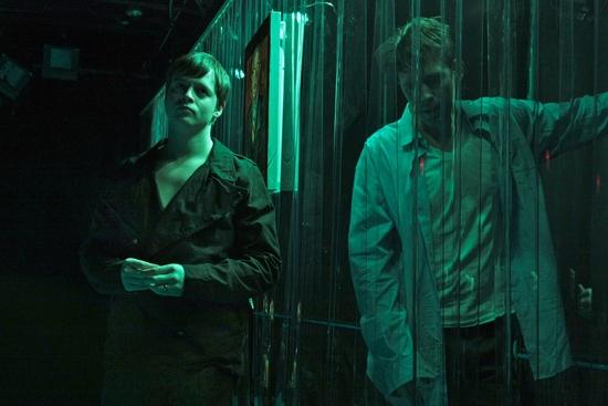 Billy Wheelan as Henri Gabler and John Keabler as Elliot Lowell