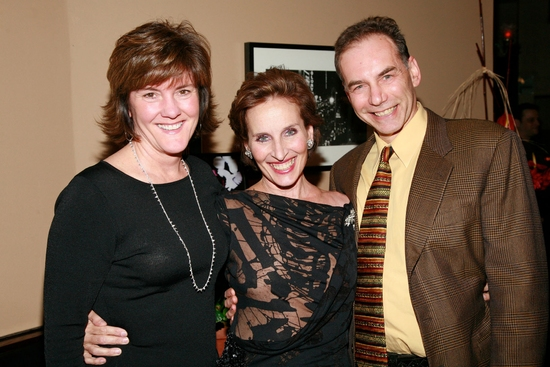 June Lindenmeyer, Andrea Marcovicci and Andrew Levine at Perry-Mansfield 'ART OF CABARET' Benefit