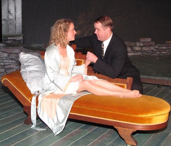 Regina Leslie and Eric Leonard