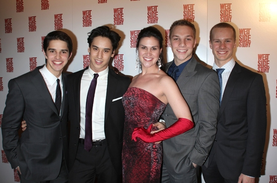 Joey Haro, Michael Rosen, Aléna Watters, Joshua Buscher and Ryan Steele