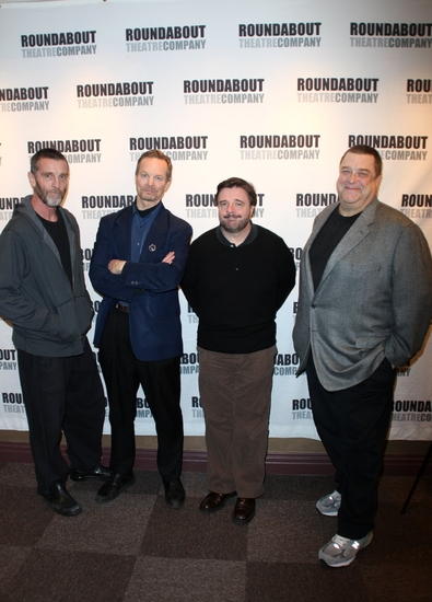 Photo Coverage: 'WAITING FOR GODOT' Meets the Press!