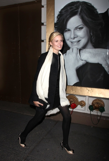Maggie Grace at GOD OF CARNAGE Opening Night Arrivals on Broadway