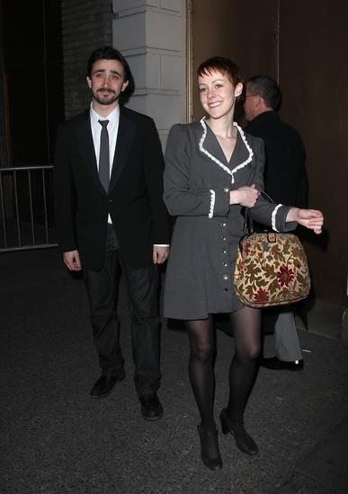 Jena Malone with guest   Photo