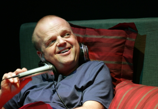 Toby Jones at Jez Butterworth's PARLOUR SONG At Almedia