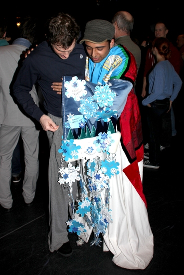 Photo Coverage: WEST SIDE STORY Gypsy Robe Ceremony