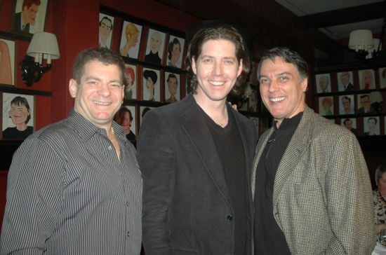 Jeremy Roberts, James Barbour and Robert Cuccioli