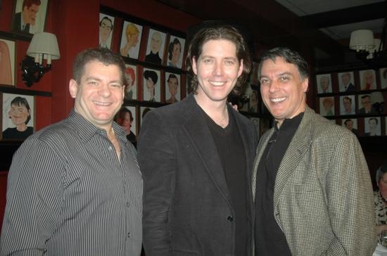 Jeremy Roberts, James Barbour and Robert Cuccioli