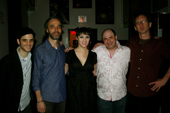 Joe Nero, Ricardo Molina, Eden Espinosa, James Sampliner and John Putman   Photo