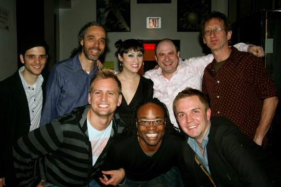 Joe Nero, Ricardo Molina, Eden Espinosa, James Sampliner, Shane Scheel, Billy Porter, Chris Isaacson and John Putman