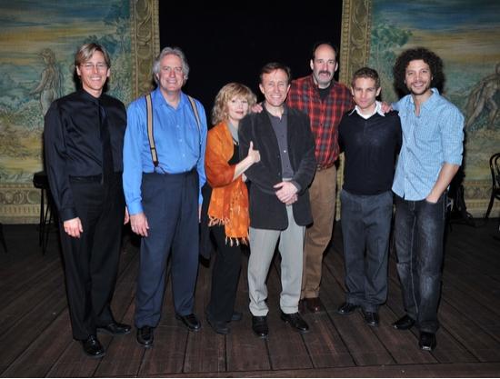 Lee Ellis, Scott Hickey, Bethe B. Austin, Kirby Ward, Dan Sharkey, Vayu O'Donnell and Justin Guarini
