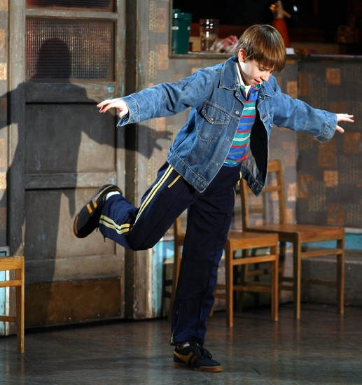 Photo Flash: Tommy Batchelor Joins BILLY ELLIOT