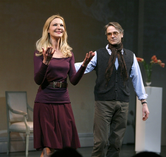 Joan Allen and Jeremy Irons