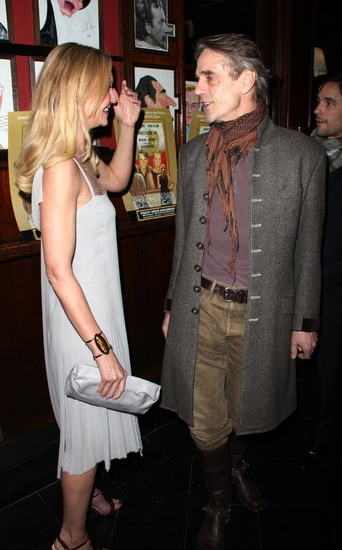 Joan Allen and Jeremy Irons Photo