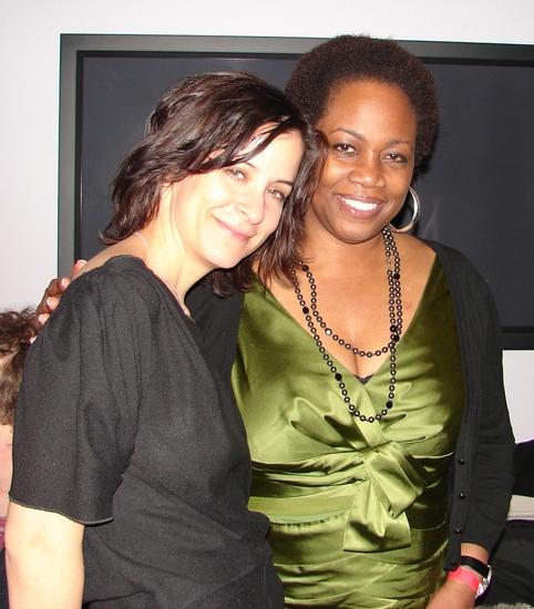 Director Anna D. Shapiro and Playwright Regina Taylor Photo