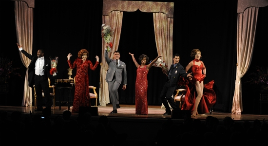 Dashaun Young, Charles Busch, Bryan Batt, Lisa Estridge, Todd Dubail and LYPSINKA