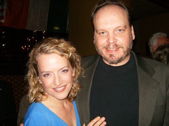 Regina Leslie and Brett Tuomi
