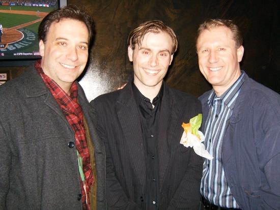 Scott Cummins, Travis Williams, and Aaron Christensen