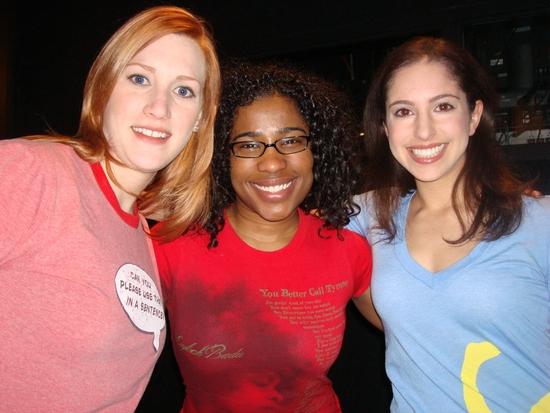 Robin Childress, Melanie Brezill, and Laura Scheinbaum