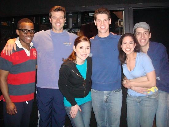 Travis Turner, Tim Gregory, Cat Davis, Max Quinlan, Laura Scheinbaum and Jackson Evan Photo