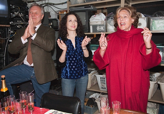 Walter Bobbie, Bebe Neuwirth, and Fran Weissler