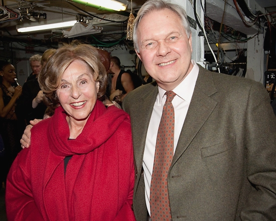 Fran Weissler and Walter Bobbie