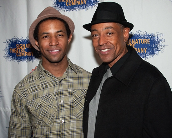 Amari Cheatom and Giancarlo Esposito   Photo