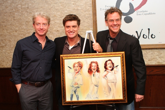Ben Livingston, Sean Allan Krill and Pearce Bunting