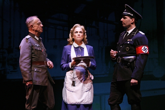 Thomas Ryan, Tovah Feldshuh, and John Stanisci