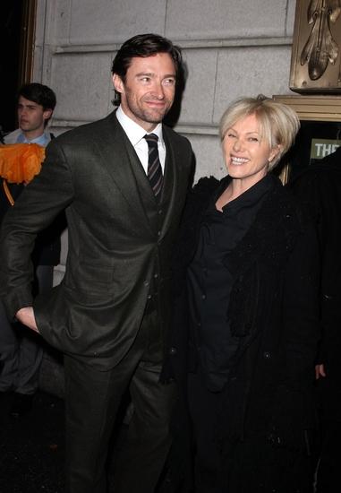 Hugh Jackman and Debrah Lee Furniss